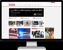 folkbladet.nu desktop
